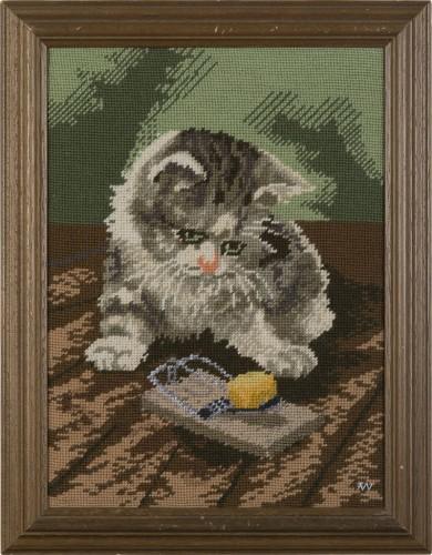 Katze 2 * 2012 * 46,5 x 36,5 cm