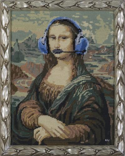 * Kommando Mona Lisa * 2012 * 50 x 40 cm