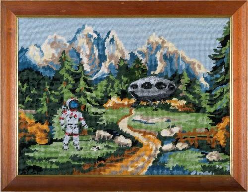 Astronaut * 2015 * 34,5 x 44,5 cm