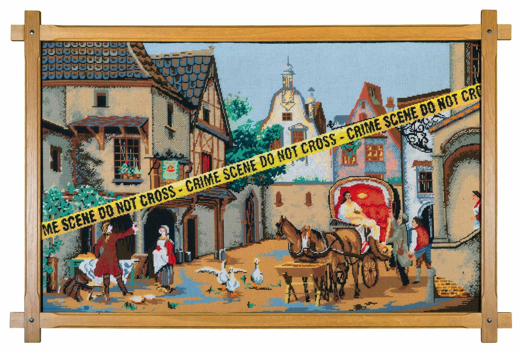 Crime Scene * 2015 * 83,5 x 126,5 cm