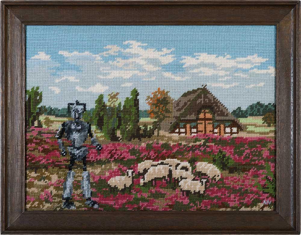 Cyberman* 2014 * 34,5 x 45,5 cm