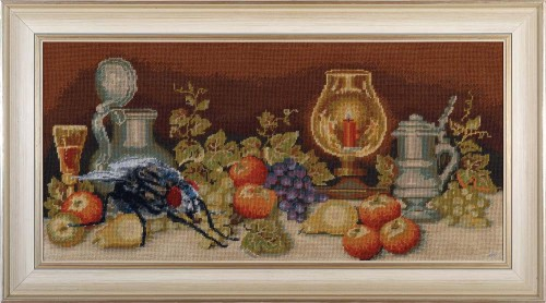 * Still Life with a Fly * 2014 * 50 x 90,5 cm