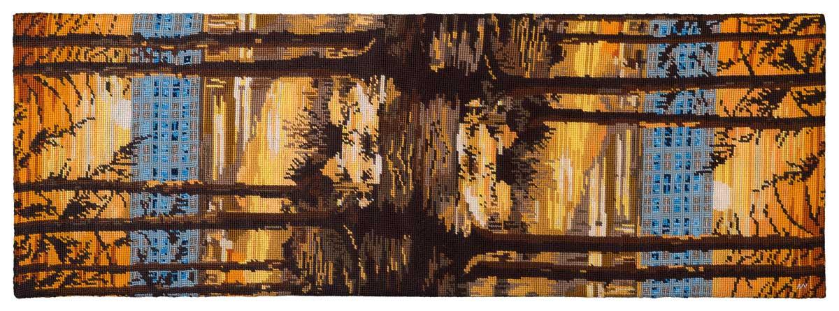 Sonnenwende * 2015 * 151 x 53 cm ohne Rahmen