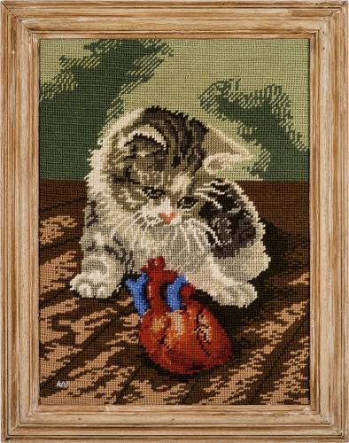 Cat 4 * 2016 * 46 x 36 cm