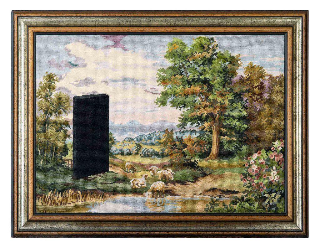 Monolith * 2018 * 62 x 82 cm